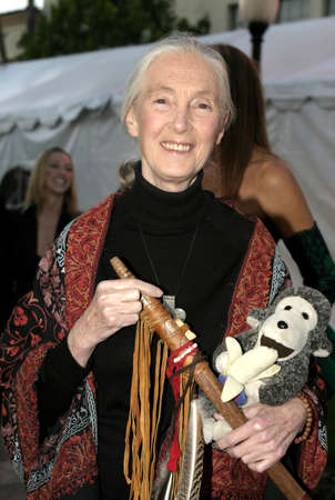 Dr. Jane Goodall at the IDA Awards - In Defense of Animals Hosts 2nd Annual Guardian Award held at the Paramount Studios in Los Angeles, USA on October 30, 2004. 報道画像