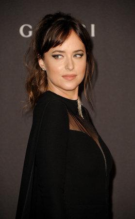 Dakota Johnson at the 2018 LACMA Art + Film Gala held at the LACMA in Los Angeles, USA on November 3, 2018. Editorial