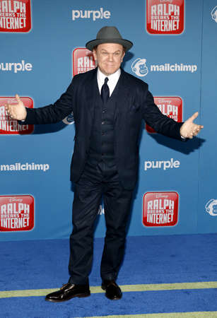 John C. Reilly at the World premiere of 'Ralph Breaks The Internet' held at the El Capitan Theatre in Hollywood, USA on November 5, 2018. Editorial