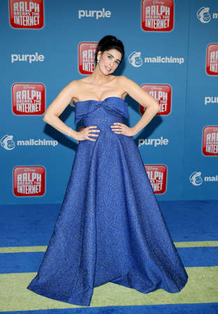Sarah Silverman at the World premiere of 'Ralph Breaks The Internet' held at the El Capitan Theatre in Hollywood, USA on November 5, 2018. Editorial
