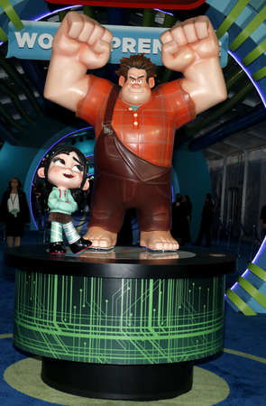 World premiere of 'Ralph Breaks The Internet' held at the El Capitan Theatre in Hollywood, USA on November 5, 2018. Editorial