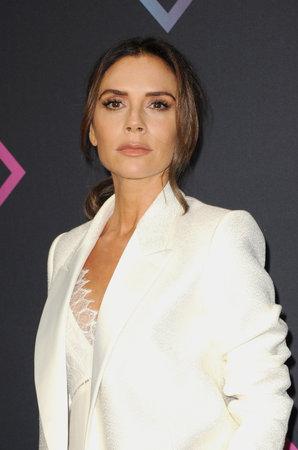 Victoria Beckham at the 2018 People's Choice Awards held at the Barker Hangar in Santa Monica, USA on November 11, 2018.
