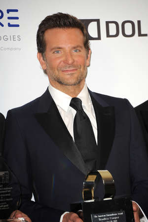 Bradley Cooper at the 32nd American Cinematheque Award Presentation Honoring Bradley Cooper held at the Beverly Hilton Hotel in Beverly Hills, USA on November 29, 2018. Editoriali
