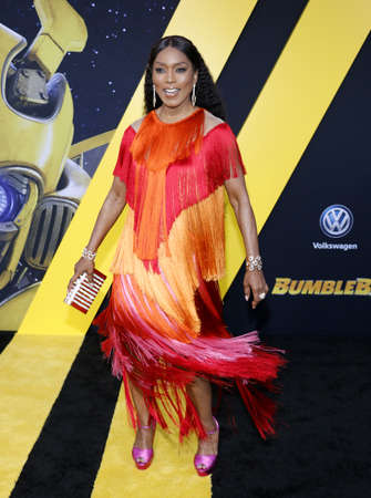Angela Bassett at the World premiere of Bumblebee held at the TCL Chinese Theatre IMAX in Hollywood, USA on December 9, 2018.
