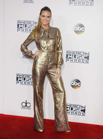 Heidi Klum at the 2016 American Music Awards held at the Microsoft Theater in Los Angeles, USA on November 20, 2016. Editorial