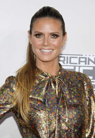 Heidi Klum at the 2016 American Music Awards held at the Microsoft Theater in Los Angeles, USA on November 20, 2016. 에디토리얼