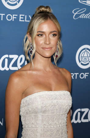 Kristin Cavallari at the Art Of Elysiums 12th Annual Heaven Celebration held at the Private Venue in Los Angeles, USA on January 5, 2019. Editorial