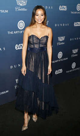 Jamie Chung at the Art Of Elysiums 12th Annual Heaven Celebration held at the Private Venue in Los Angeles, USA on January 5, 2019.
