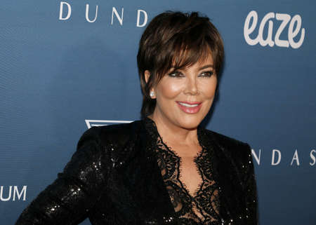 Kris Jenner at the Art Of Elysiums 12th Annual Heaven Celebration held at the Private Venue in Los Angeles, USA on January 5, 2019. Redakční