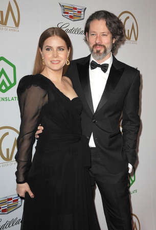 Amy Adams and Darren Le Gallo at the 30th Annual Producers Guild Awards held at the Beverly Hilton Hotel in Beverly Hills, USA on January 19, 2019. Editorial