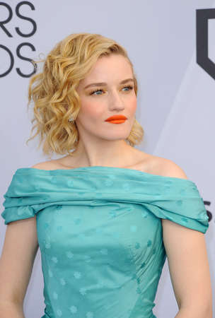 Julia Garner at the 25th Annual Screen Actors Guild Awards held at the Shrine Auditorium in Los Angeles, USA on January 27, 2019.