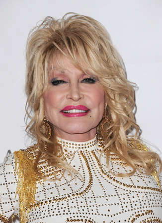 Dolly Parton at the 2019 MusiCares Person Of The Year Honoring Dolly Parton held at the Los Angeles Convention Center in Los Angeles, USA on February 8, 2019.