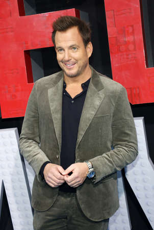 Will Arnett at the Los Angeles premiere of The Lego Movie 2: The Second Part held at the Regency Village Theatre in Westwood, USA on February 2, 2019.
