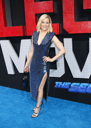 Elizabeth Banks at the Los Angeles premiere of The Lego Movie 2: The Second Part held at the Regency Village Theatre in Westwood, USA on February 2, 2019. Sajtókép