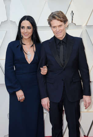 Giada Colagrande and Willem Dafoe at the 91st Annual Academy Awards held at the Hollywood and Highland in Los Angeles, USA on February 24, 2019.
