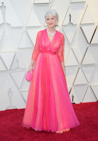 Helen Mirren at the 91st Annual Academy Awards held at the Hollywood and Highland in Los Angeles, USA on February 24, 2019. Stock Photo - 117571909