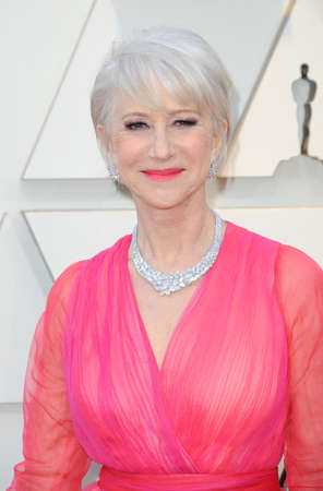 Helen Mirren at the 91st Annual Academy Awards held at the Hollywood and Highland in Los Angeles, USA on February 24, 2019. Stock Photo - 117571912