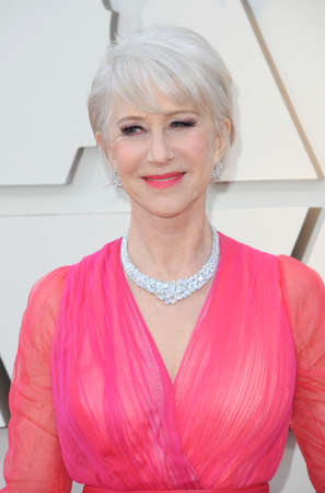 Helen Mirren at the 91st Annual Academy Awards held at the Hollywood and Highland in Los Angeles, USA on February 24, 2019.
