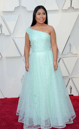 Yalitza Aparicio at the 91st Annual Academy Awards held at the Hollywood and Highland in Los Angeles, USA on February 24, 2019.