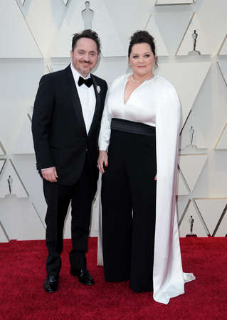 Ben Falcone and Melissa McCarthy at the 91st Annual Academy Awards held at the Hollywood and Highland in Los Angeles, USA on February 24, 2019. Archivio Fotografico - 117572024