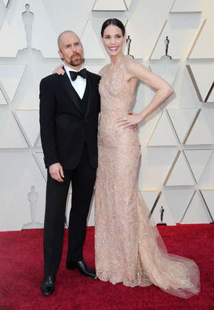 Sam Rockwell and Leslie Bibb at the 91st Annual Academy Awards held at the Hollywood and Highland in Los Angeles, USA on February 24, 2019.