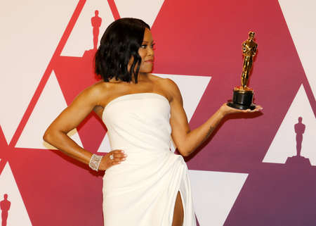 Regina King at the 91st Annual Academy Awards - Press Room held at the Loews Hotel in Hollywood, USA on February 24, 2019.