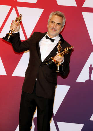 Alfonso Cuaron at the 91st Annual Academy Awards - Press Room held at the Loews Hotel in Hollywood, USA on February 24, 2019. Stock Photo - 117946514