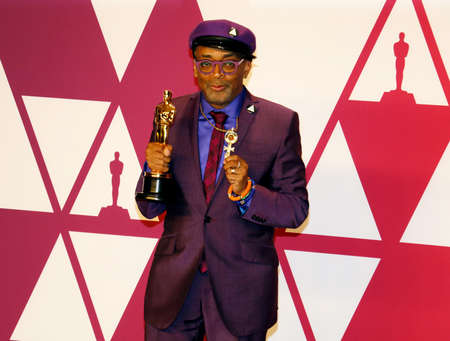 Spike Lee at the 91st Annual Academy Awards - Press Room held at the Loews Hotel in Hollywood, USA on February 24, 2019.