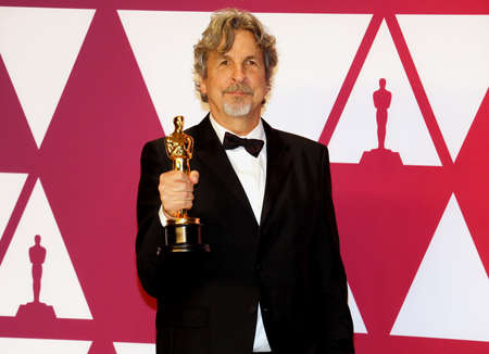Peter Farrelly at the 91st Annual Academy Awards - Press Room held at the Loews Hotel in Hollywood, USA on February 24, 2019.