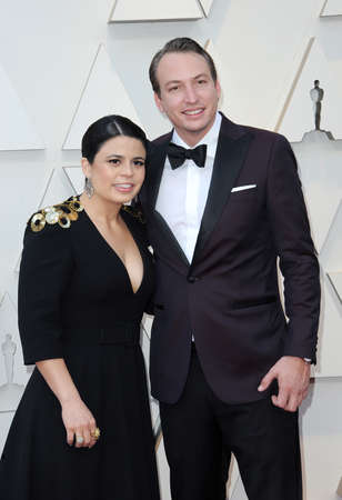 Gabriela Rodriguez and Nicolas Celis at the 91st Annual Academy Awards held at the Hollywood and Highland in Los Angeles, USA on February 24, 2019. Stock Photo - 117944589