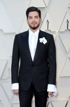 Adam Lambert at the 91st Annual Academy Awards held at the Hollywood and Highland in Los Angeles, USA on February 24, 2019.