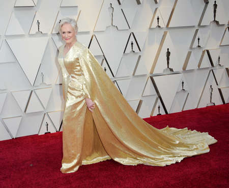 Glenn Close at the 91st Annual Academy Awards held at the Hollywood and Highland in Los Angeles, USA on February 24, 2019. Stock Photo - 117944747