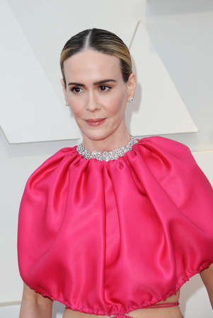 Sarah Paulson at the 91st Annual Academy Awards held at the Hollywood and Highland in Los Angeles, USA on February 24, 2019.