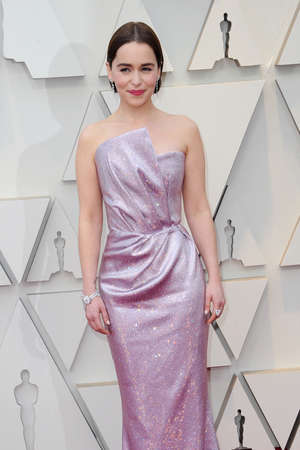 Emilia Clarke at the 91st Annual Academy Awards held at the Hollywood and Highland in Los Angeles, USA on February 24, 2019. Editorial