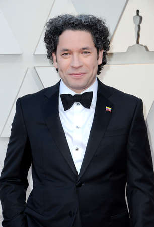 Gustavo Dudamel at the 91st Annual Academy Awards held at the Hollywood and Highland in Los Angeles, USA on February 24, 2019. 報道画像