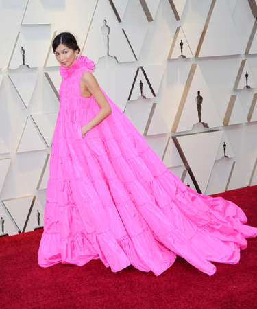 Gemma Chan at the 91st Annual Academy Awards held at the Hollywood and Highland in Los Angeles, USA on February 24, 2019.