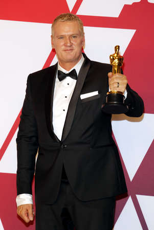 John Ottman at the 91st Annual Academy Awards - Press Room held at the Loews Hotel in Hollywood, USA on February 24, 2019.