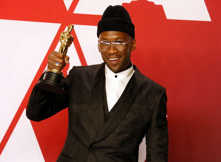 Mahershala Ali at the 91st Annual Academy Awards - Press Room held at the Loews Hotel in Hollywood, USA on February 24, 2019. Stock Photo - 117944851