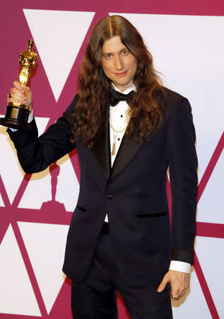 Ludwig Goransson at the 91st Annual Academy Awards - Press Room held at the Loews Hotel in Hollywood, USA on February 24, 2019.
