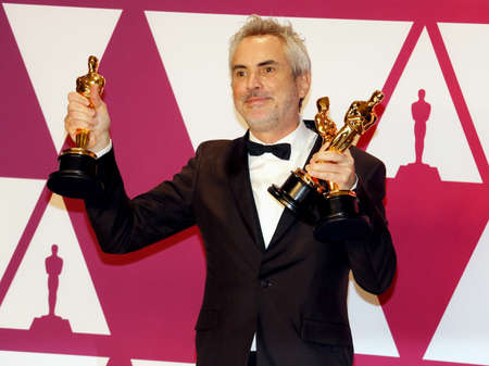 Alfonso Cuaron at the 91st Annual Academy Awards - Press Room held at the Loews Hotel in Hollywood, USA on February 24, 2019.