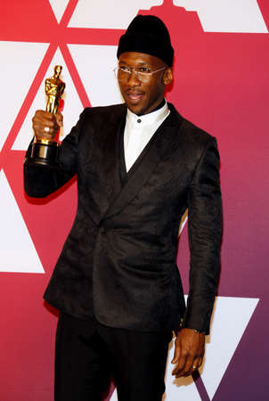 Mahershala Ali at the 91st Annual Academy Awards - Press Room held at the Loews Hotel in Hollywood, USA on February 24, 2019.