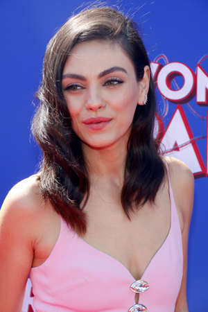 Mila Kunis at the World premiere of Wonder Park held at the Regency Bruin Theatre in Westwood, USA on March 10, 2019. Editorial