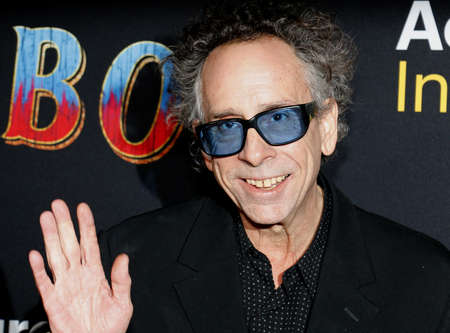 Tim Burton at the World premiere of Dumbo held at the El Capitan Theatre in Hollywood, USA on March 11, 2019.