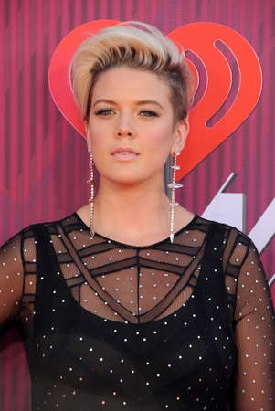 Betty Who at the 2019 iHeartRadio Music Awards held at the Microsoft Theater in Los Angeles, USA on March 14, 2019.