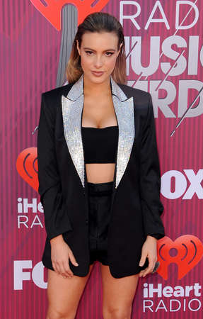 Lele Pons at the 2019 iHeartRadio Music Awards held at the Microsoft Theater in Los Angeles, USA on March 14, 2019.