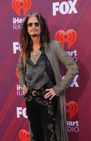 Steven Tyler at the 2019 iHeartRadio Music Awards held at the Microsoft Theater in Los Angeles, USA on March 14, 2019.