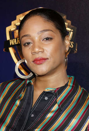 Tiffany Haddish at the 2019 CinemaCon - Warner Bros. Pictures The Big Picture Presentation held at the Caesars Palace in Las Vegas, USA on April 2, 2019.