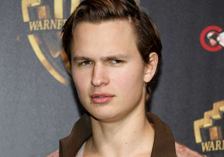 Ansel Elgort at the 2019 CinemaCon - Warner Bros. Pictures 'The Big Picture' Presentation held at the Caesars Palace in Las Vegas, USA on April 2, 2019. Фото со стока - 120753624