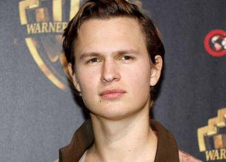 Ansel Elgort at the 2019 CinemaCon - Warner Bros. Pictures 'The Big Picture' Presentation held at the Caesars Palace in Las Vegas, USA on April 2, 2019. Фото со стока - 120753626