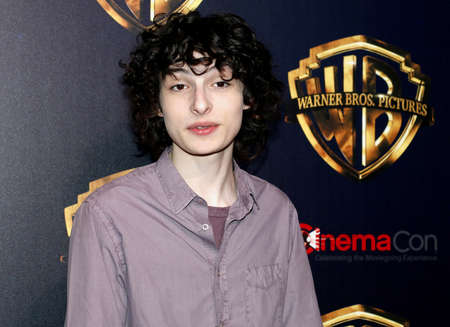 Finn Wolfhard at the 2019 CinemaCon - Warner Bros. Pictures 'The Big Picture' Presentation held at the Caesars Palace in Las Vegas, USA on April 2, 2019. Фото со стока - 120753628